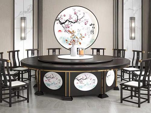 新中式酒店餐飲家具價格